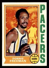 1974-75 Topps #253 Donnie Freeman Near Mint+  ID: 312946