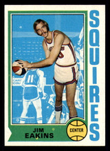 1974-75 Topps #258 Jim Eakins Near Mint+  ID: 312950