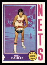 1974-75 Topps #262 Billy Paultz Ex-Mint  ID: 312954