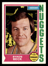 1974-75 Topps #264 Byron Beck Excellent+