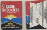1978 Topps Close Encounters Of The Third Kind Unopened Wax Pack  #*