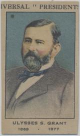 1920/30 W-563 Ulysses S. Grant 1869-1877 President Strip Card  #*