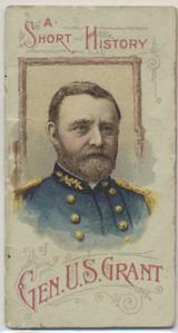 1888 N78 Histories Of Generals General U. S. Grant 16 Pages  #*