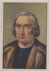 1938 Famous Men Belgian #75 Christopher Columbus  #*