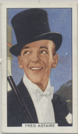 1935 Gallaher Ltd Portraits Of Famous Stars #17 Fred Astaire  #*