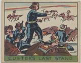 1930's R128-1 Series Of 48 Westerns #9 General George Custer  #*