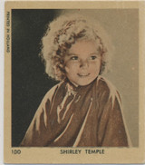 1930's Printed In Holland #100 Shirley Temple  #*