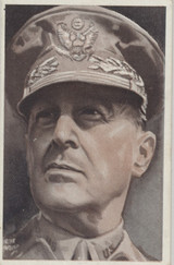 1950's Stamina Australia Men Of Portrait Series General Douglas MacArthur  #*