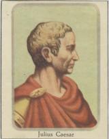 1950's Wonders Past & Present Vol 1 Instructive Arts London Julius Caesar Blank Back  #*