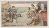 1895 Celebrated Children Aiguebelle France Ben Franklin  #*