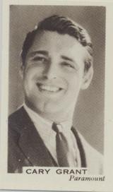 1939 Facc Hino Cinema Stars #21 Cary Grant  #*