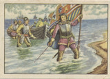 1928 Wagner Germany Series 20 Explorers #1 Christopher Columbus  #*