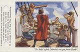 1935 Men Of Destiny A & M Wix London Dolder 100 #21 Christopher Columbus  #*