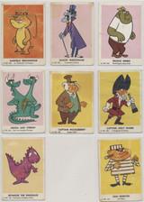 1962 Crusader Rabbit Bell Brand Lot Of 8 GOOD  #* WILL SELL SINGLES