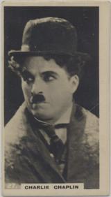 1926 Popular Film Stars Lambert & Butler #27/50 Charlie Chaplin  #*