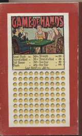 1950/60's Game Of Hands Not Used   #*