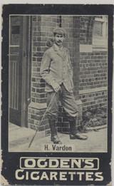 1902 Ogden's Cigarettes Golf H. Vardon  #*