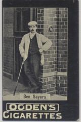 1902 Ogden's Cigarettes Golf Ben Sayers  #*