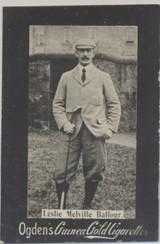 1901 Ogden Cigarette Card Guinea Gold Golf Leslie Melville Balfour  #*