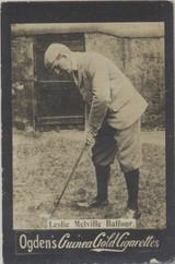 1901 Ogden Cigarette Card Guinea Gold Golf Leslie Melville Belfour  #*
