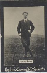 1901 Ogden Cigarette Card Guinea Gold Golf James Robb.   #*