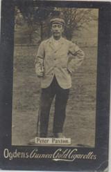 1901 Ogden Cigarette Card Guinea Gold Golf Peter Paxton  #*