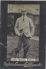 1901 Ogden Cigarette Card Guinea Gold Golf Leslie Melville Balfour  #*#