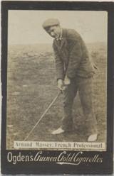 1901 Ogden Cigarette Guinea Golf Arnaud Massey   #*