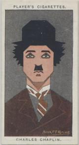 1926 John Players & Sons #12 Charlie Chaplin Ex-Mt  #*