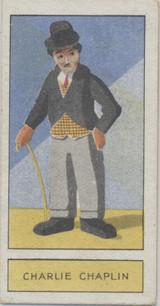 1932 Godfrey Phillips Personalities Of To-Day #4/25 Charlie Chaplin Ex  #*