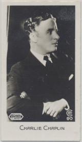 1932 C & T Bridgewater Ltd. Film Stars #90/96 Charlie Chaplin Nr-Mt Blank Back  #*
