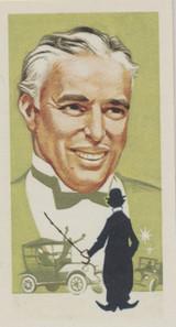 1969 Brooke Bond Famous People #38/50 Charlie Chaplin Nr-Mt  #*