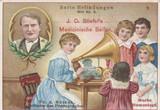 1900 Stiefel Germany Inventors #5 Thomas Edison Ex  #*