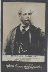 1901 Guinea Gold Ogdens Ltd. Liverpool Set 330s-1Charles Dickens Ex+  #*