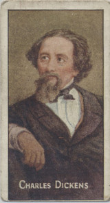 1912 John Irwin Sons & Co Ltd. Tea Characters From Dickens Work #12 Charles Dickens Vg 006 S  #*