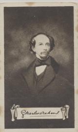 1923 Nicolas Sarony & Co Celebrities Autographs #18/25 Charles Dickens Ex  #*