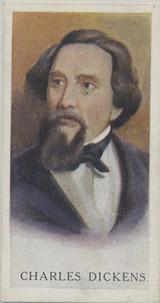 1927 Carreas London Famous Men #4/25 Charles Dickens Ex-Mt  #*