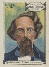 1930 Meurisse France Series 90 Famous Writers #12/90 Charles Dickens Nr-Mt  #*