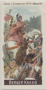1900 Berger Germany Album 5 Series 1 Leaders #2 Julius Cedar Ex-Mt  #*