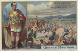 1900 Suchard Switzerland Series 153 Historic Saying #3 Julius Cedar Ex  #*