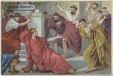 1905 Ignaz Schatzi Graz Austria Roman History Death Of Cedar #43 Julius Cedar Ex  #*