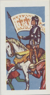 1957 Kane Historical Characters #4 Joan Of Arc Nr-Mt  #*