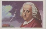 1932 Enver Bey Cigs Germany Series 1 Inventors Scientists & Explorers #69/72 Benjamin Franklin  #*