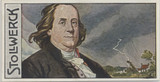 1908 Strollwerck Germany Group 443 Scientists #3 Benjamin Franklin Ex  #*
