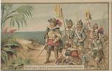 1895 Ferrand, France Explorers #21 Chistopher Columbus Miscut  #*