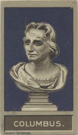 1907 Godfrey Phillips Ltd Nusts Of Famous People (Green Back) C. Columbus Ex  #*