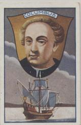 1930 Problem Cigs. Berlin, Germany Famous Explorers Ser. 25 (#1) C. Columbus Ex-Mt  #*