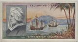 1911 F & J Smith Famous Explorers #49 Chistopher Columbus Ex  #*