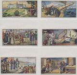 1927 Gartmann, Germany Series 684 Life Of Columbus Set Of 6 Ex  #*