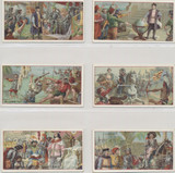 1900 Grootes Dutch Chocolates Holland Travels Of Columbus Set Of 6 Ex-Mt  #*